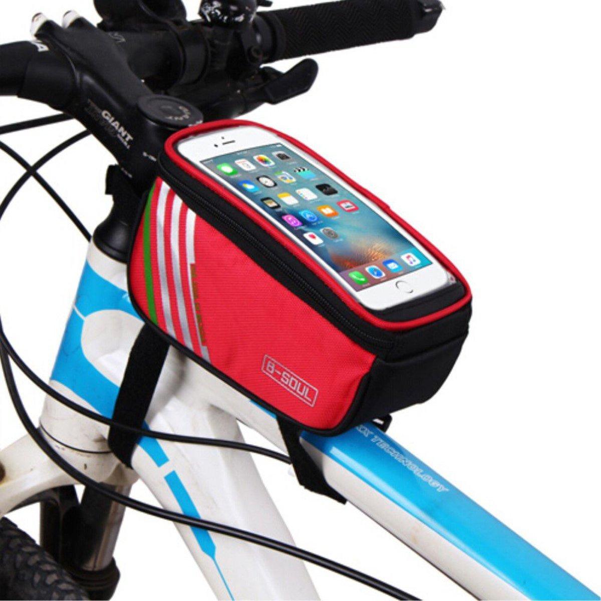 GSMpunt.nl telefoonhouder fiets - Universeel - Waterdicht - Opbergruimte