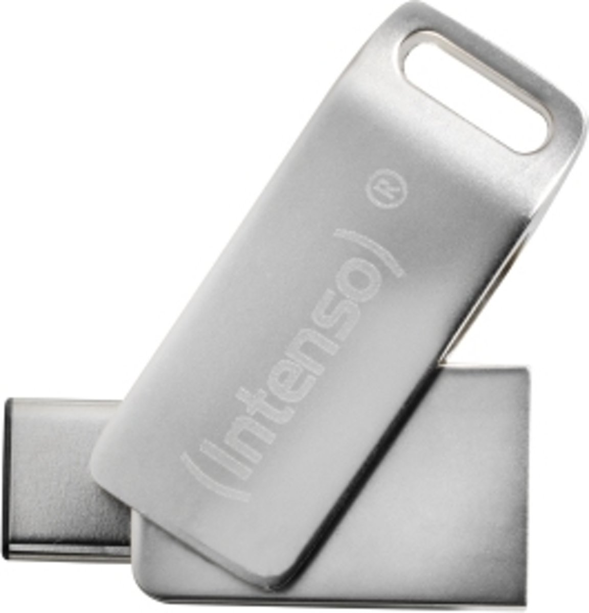 Intenso cMobile Line USB-stick smartphone/tablet Zilver 64 GB USB-C USB 3.1, USB 3.0