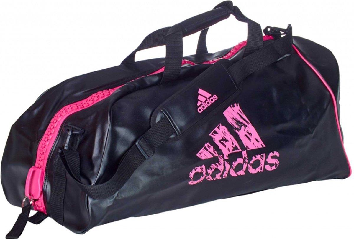 adidas sporttas zwart/roze 25 liter