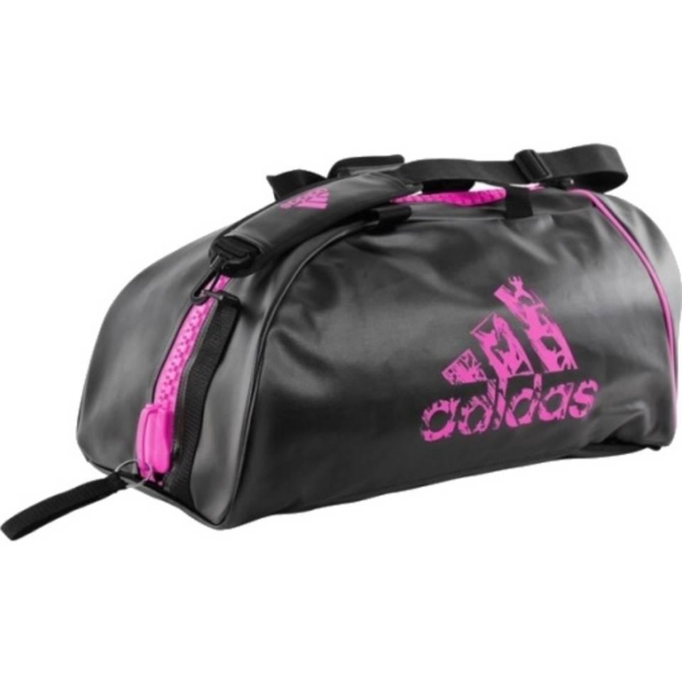 adidas sporttas zwart/roze 65 liter