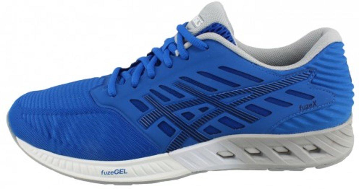 Asics Hardloopschoenen FuzeX - Heren - Neutrale schoen - Blauw - Maat 42  (=US8.5)
