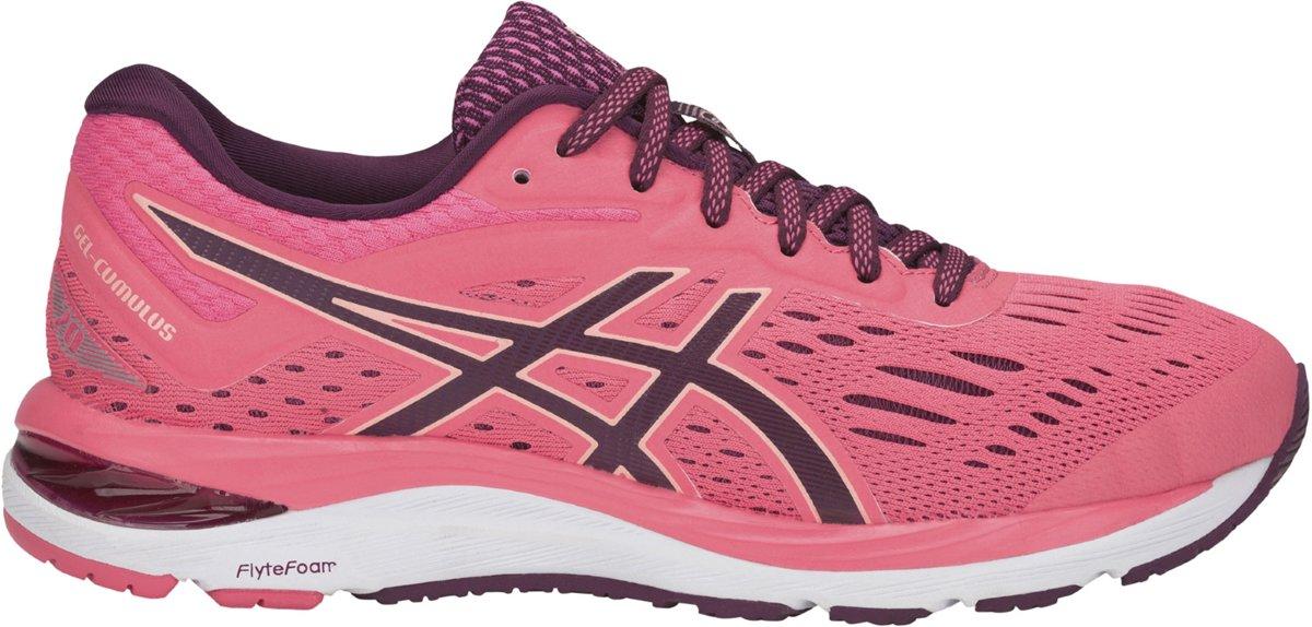 Asics Gel-Cumulus 20 Hardloopschoenen Dames Sportschoenen - Maat 39 - Vrouwen - roze