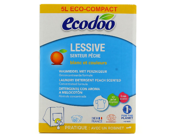 Ecodoo Wasmiddel Perzik Bag In Box (5000ml)