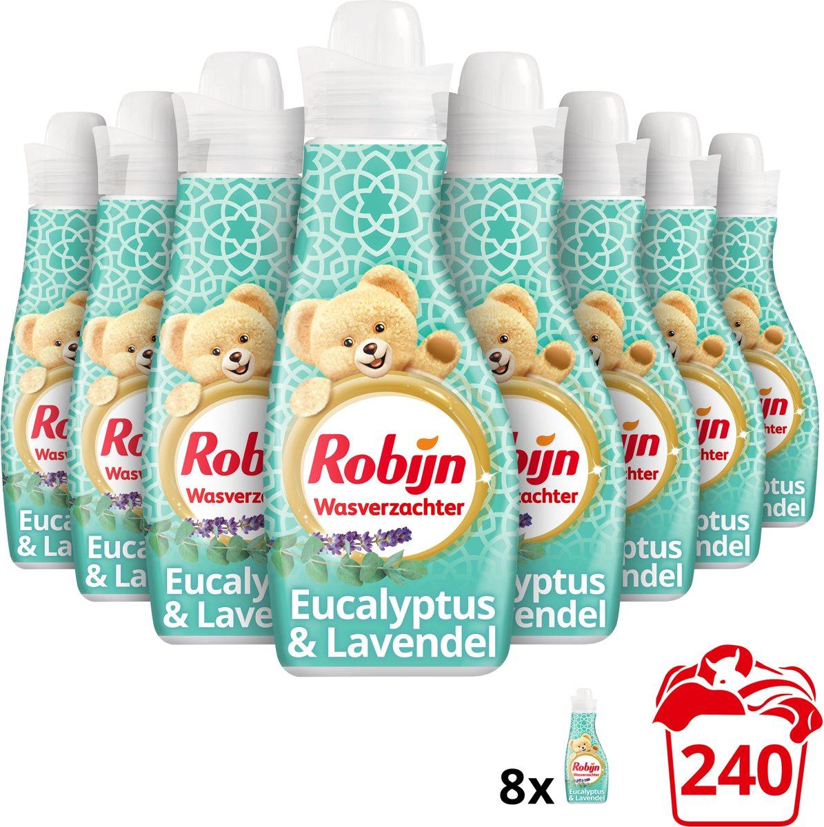 Robijn Spa Sensation wasverzachter 8x30 wasbeurten - Voordeelverpakking