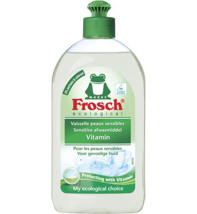 Frosch afwasmiddel - vitamin sensitive 500 ml