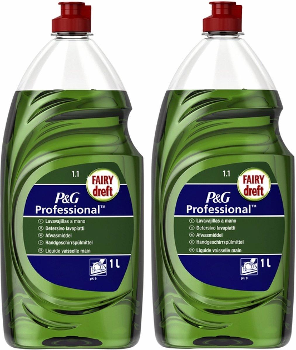 Dreft Professional Afwasmiddel - 2 x 1Liter (voordeel)