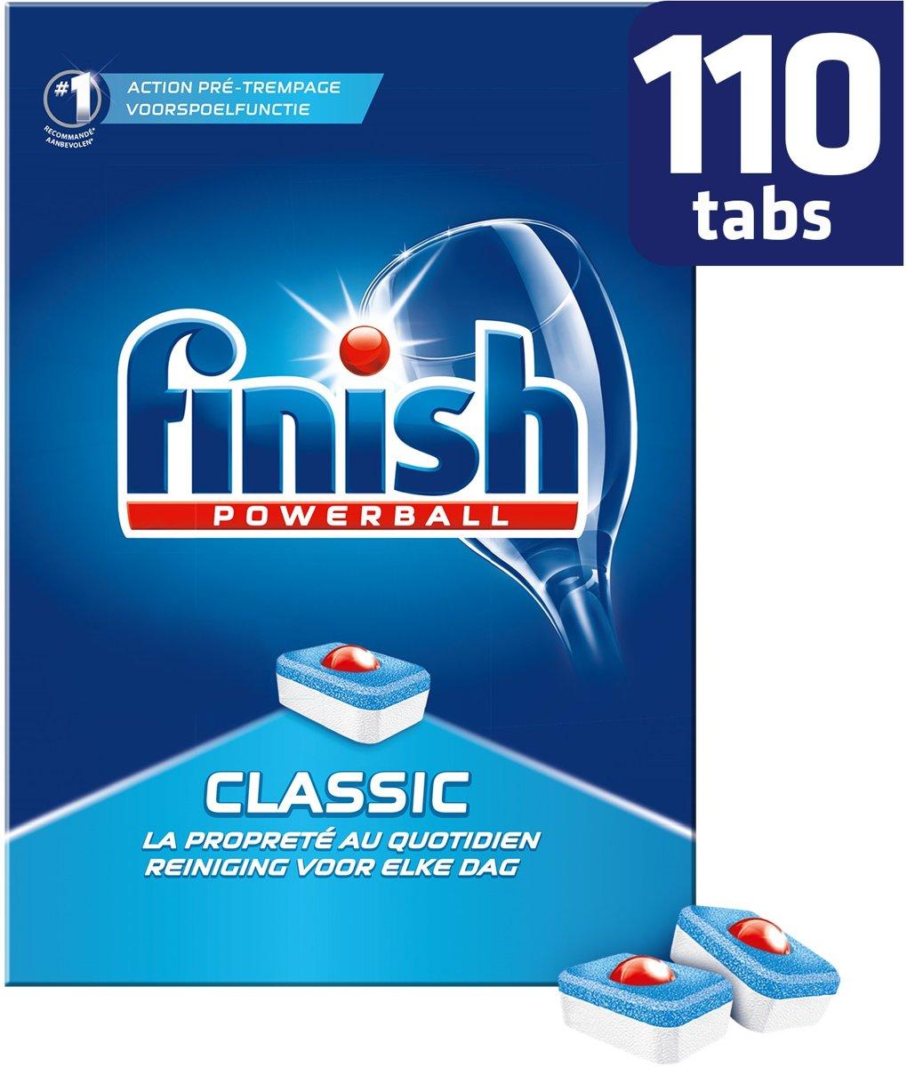 Finish Powerbal Classic Vaatwastabletten 110Stuks