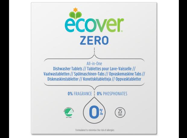Ecover Vaatwastabletten Zero (25st)