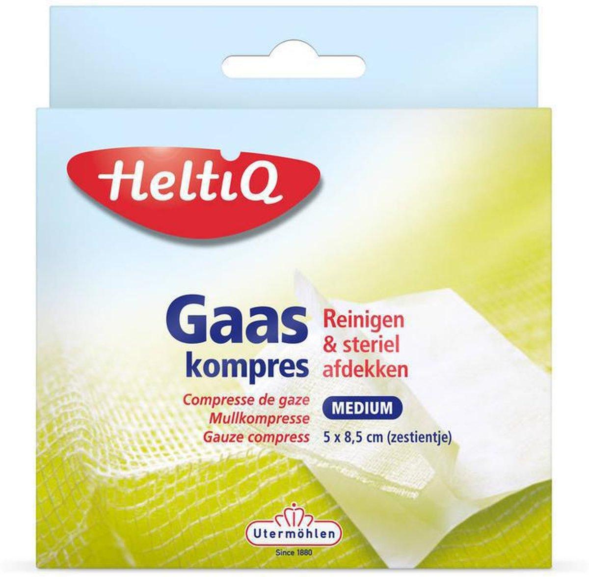 Heltiq Gaaskompres Medium Zestientje 16 Komp,