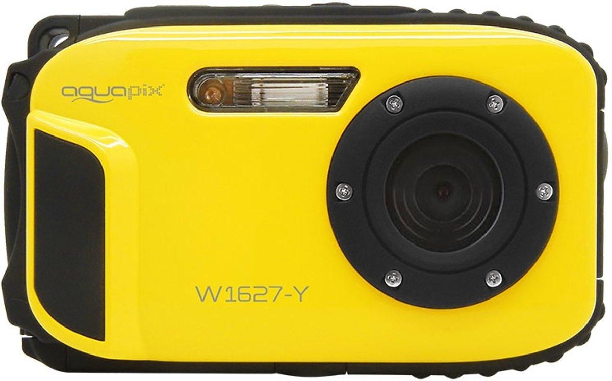 Easypix W1627 Yellow Digitale camera 16 Mpix Geel Onderwatercamera, Schokbestendig, Stofdicht