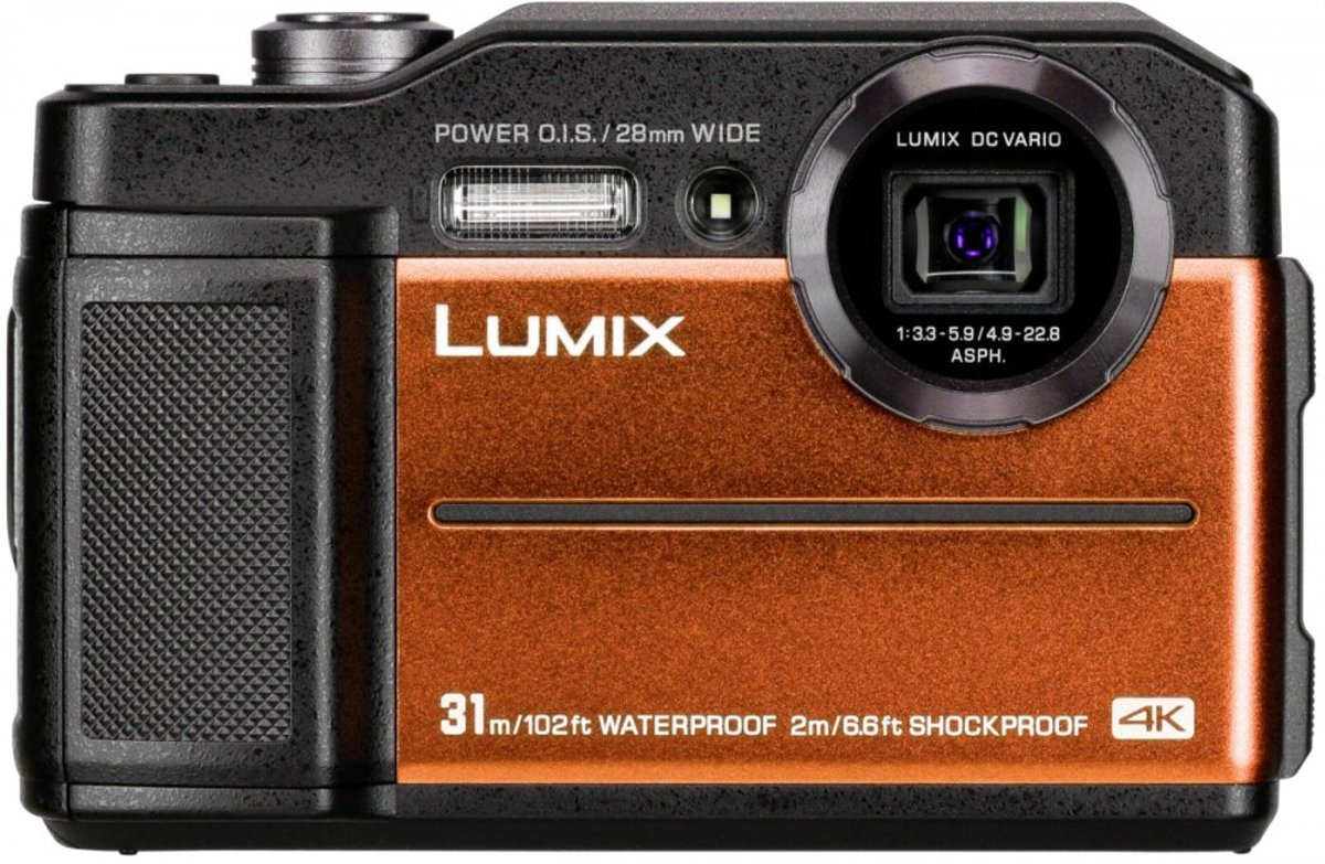 Panasonic Lumix DC-FT7 oranje