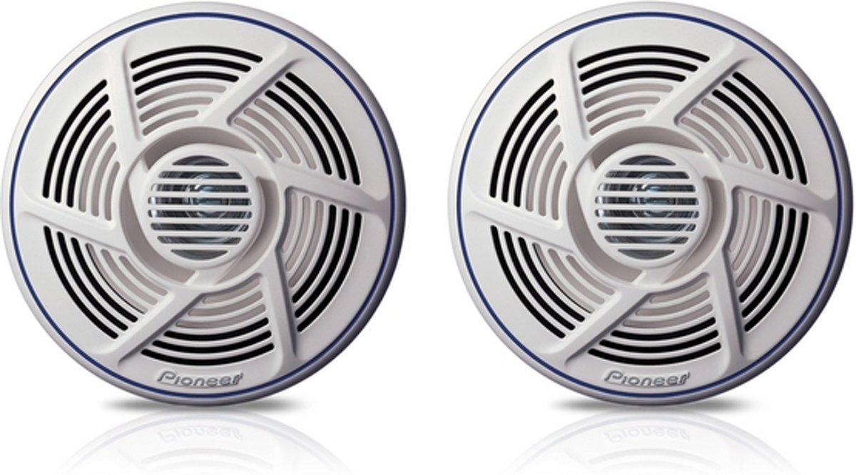 Pioneer TS-MR1600 Speakers Auto Spatwaterdicht - Ook voor badkamer of keuken.