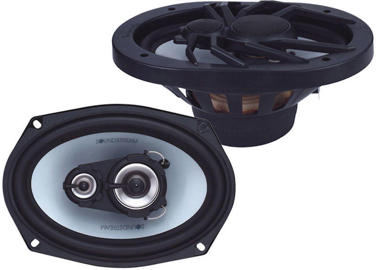 Soundstream SF-693 ovale 6x9 auto speaker hoedenplank