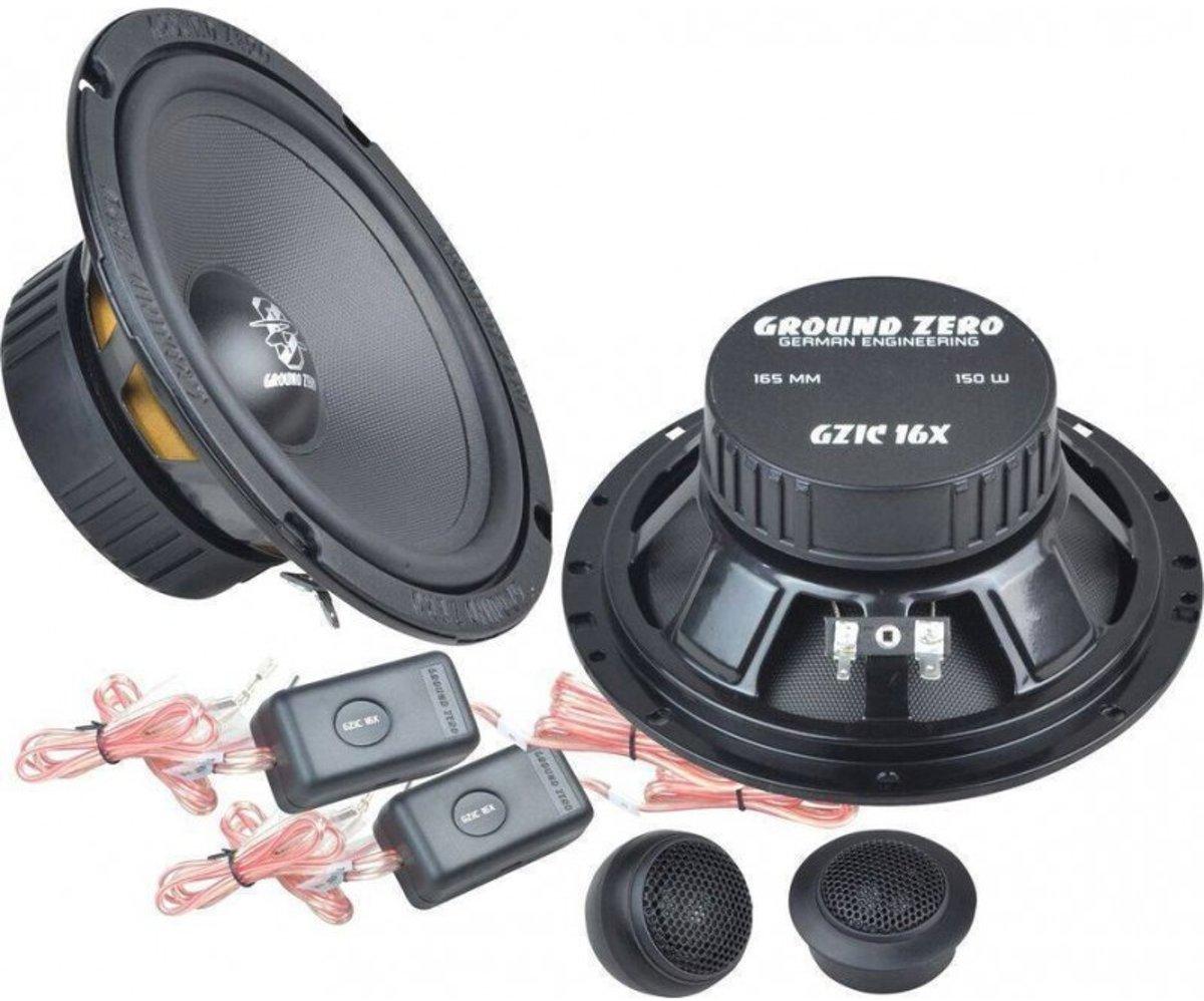 Ground Zero GZIC 16X Auto Speakerset 16.5cm - compo