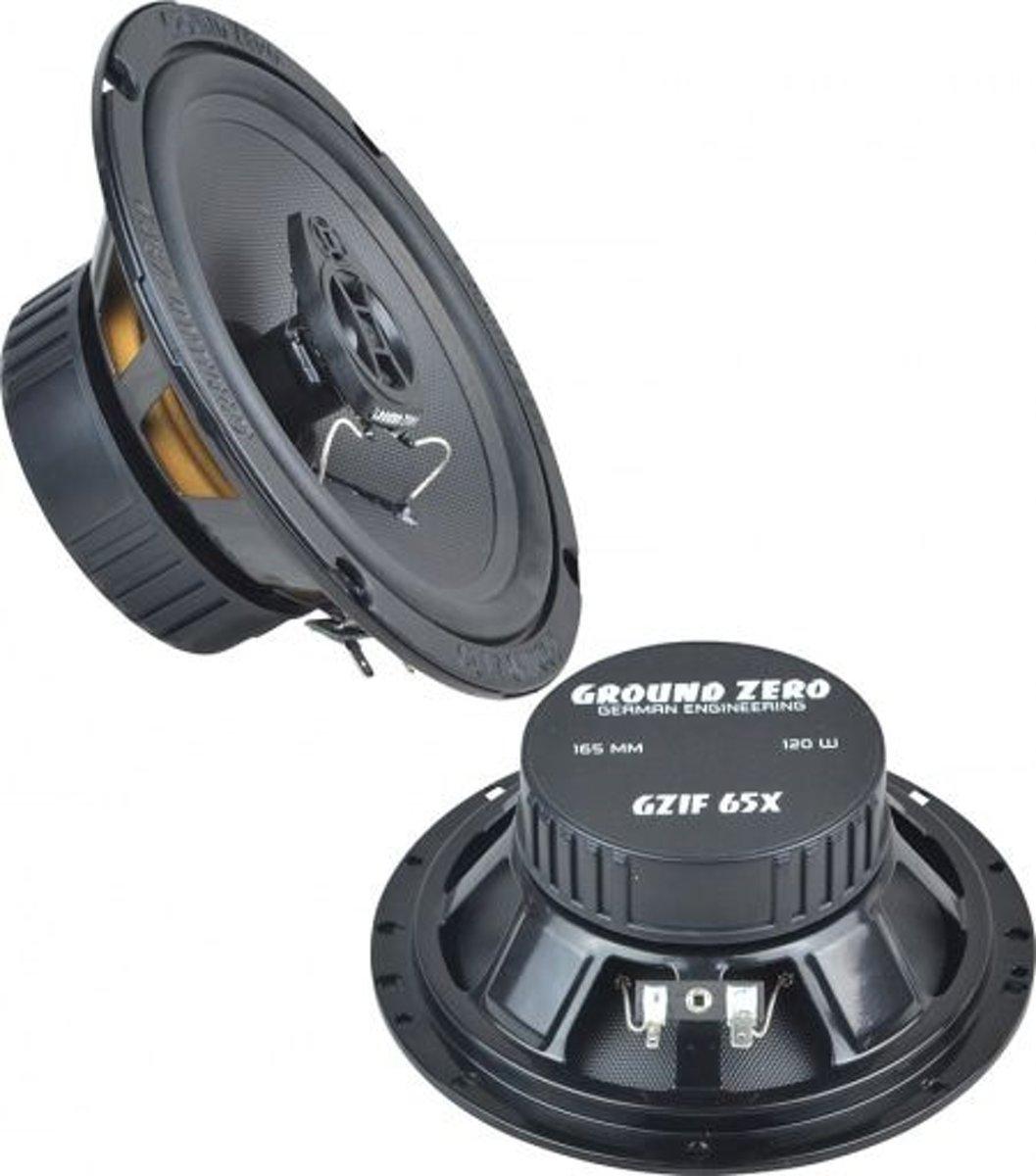 Ground Zero GZIF 65X Auto Speakerset 16.5cm - coaxiaal