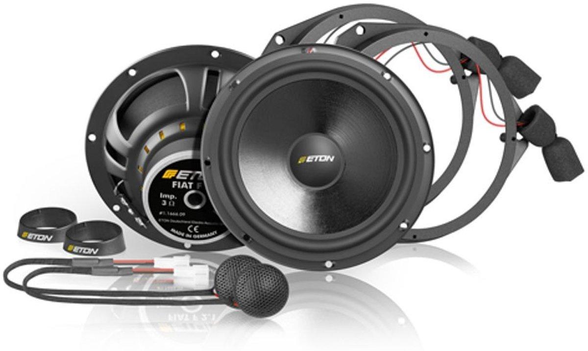 Eton Upgrade F/R 2.1 Autospeaker - Volkswagen Golf 7 - Montage Voor
