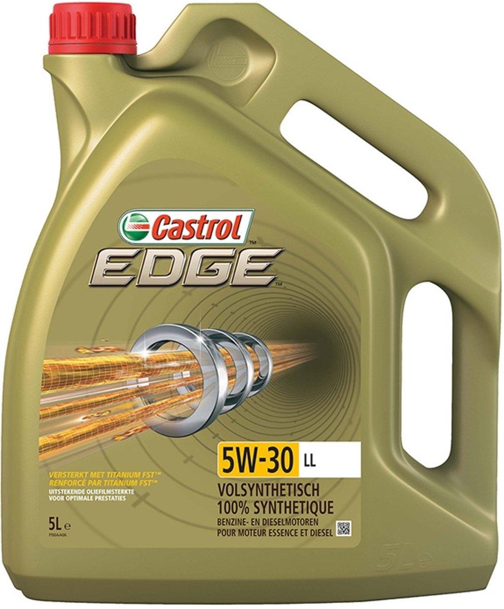 Castrol Edge 5W-30 Longlife Titanium LL - Motorolie - 5L