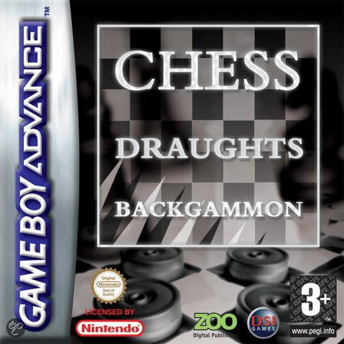 Backgammon / Chess / Draughts