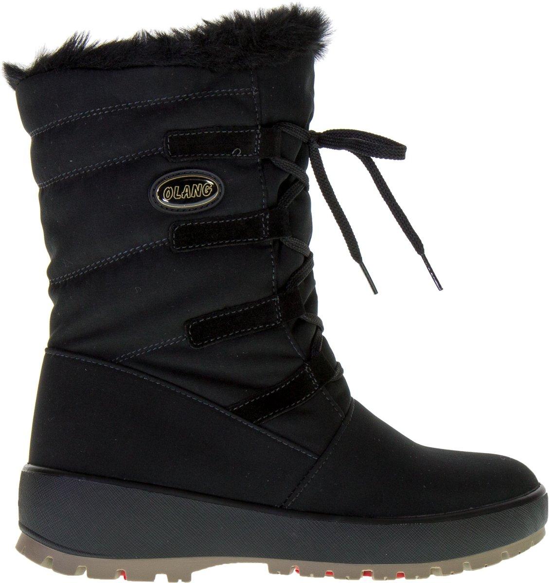 Olang? Nora - Snowboots - Vrouwen - Zwart - Maat 41