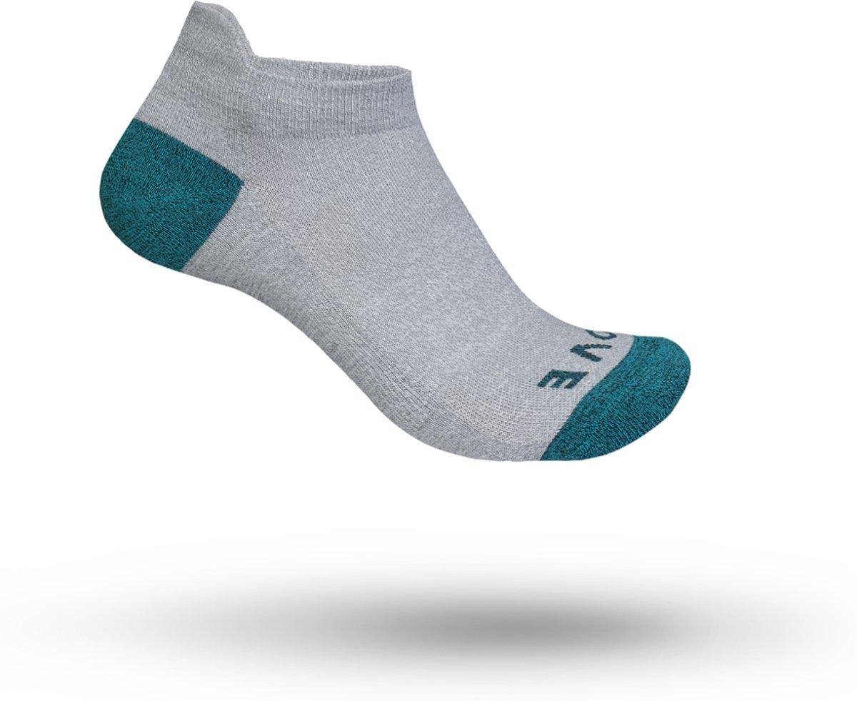 GripGrab - Women's Classic No Show Sock - Fietssokken - Maat XS - Grijs
