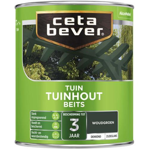 CetaBever Tuinhoutbeits Woudgroen Zijdeglans 0,75L