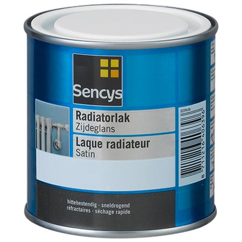 Sencys radiatorverf zijdeglans RAL 1013 250ml