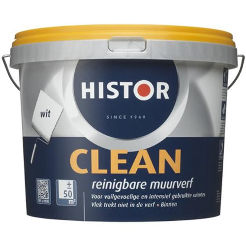 Histor latex Clean mat wit 5L