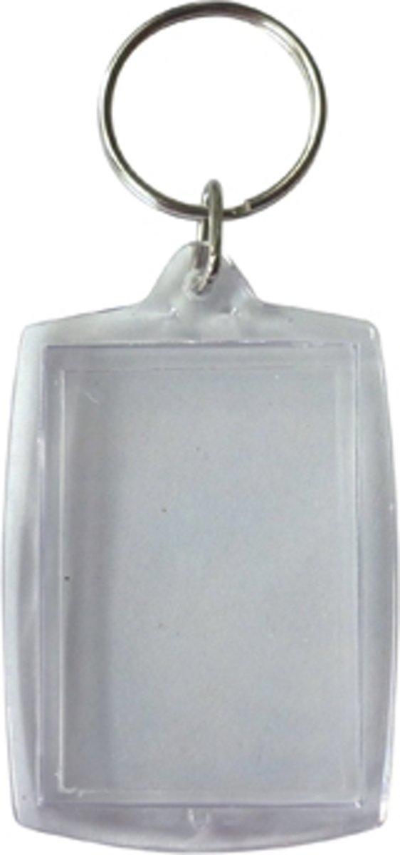 Sleutelhanger, ft 5 x 4 cm, pak van 6 stuks