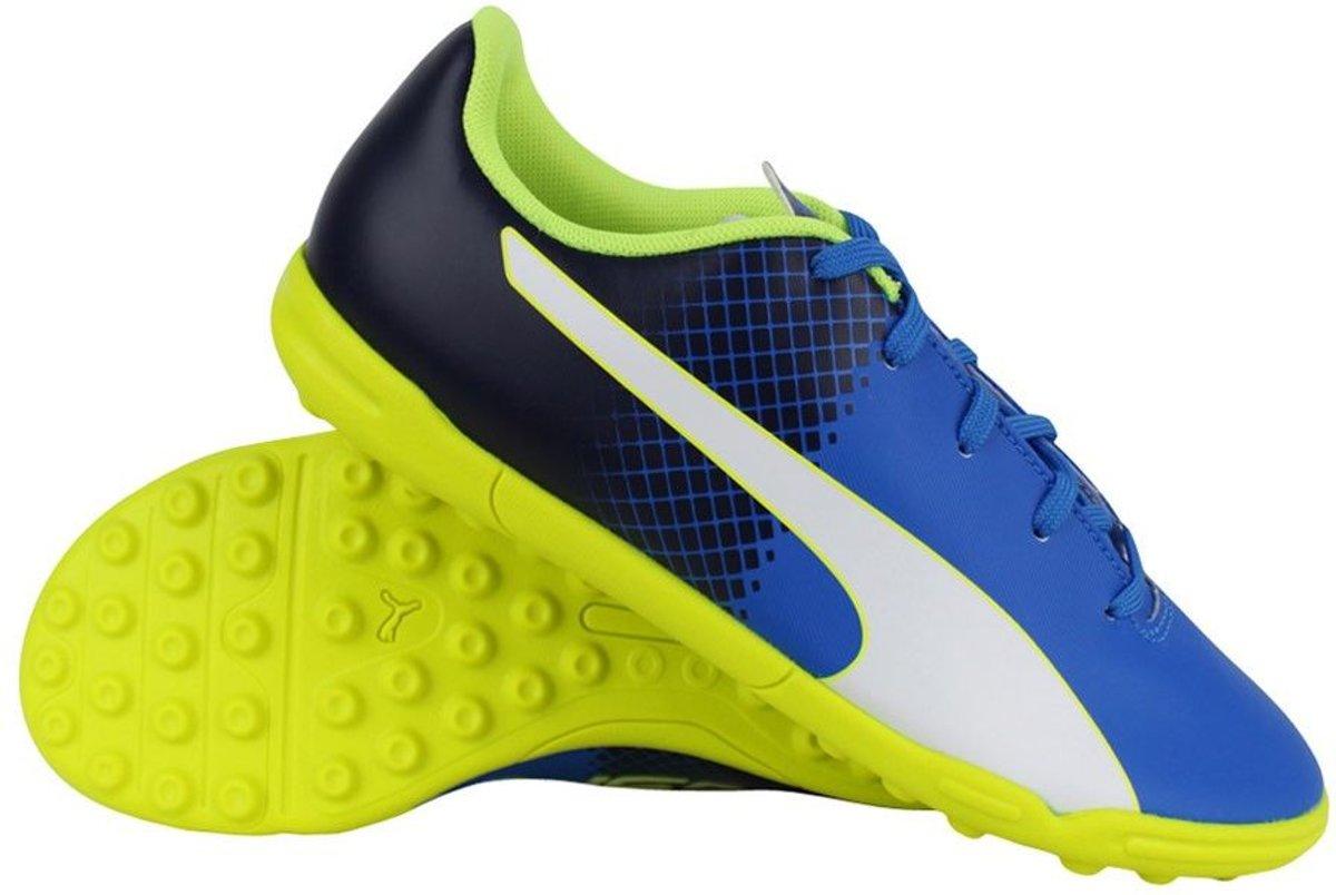Puma evoSPEED 5.5 TT Jr blauw voetbalschoenen kids (103630-04)