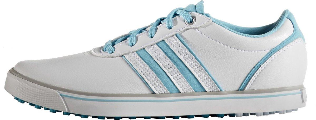 Adidas Golfschoenen Adicross V Dames Wit/blauw Maat 36