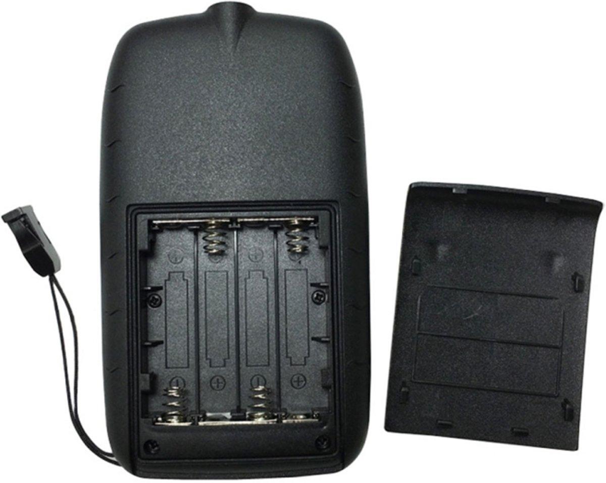 Draagbare ultrasone Fish Finder, Water diepte & temperatuur Fishfinder met bekabelde Sonar Sensor Transducer en LCD Dispaly