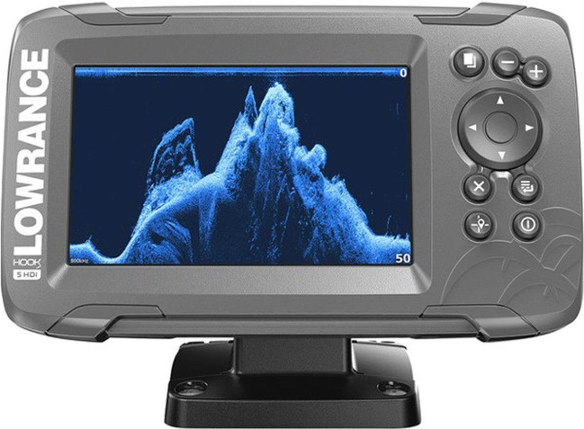 Lowrance Hook2 5x GPS Splitshot HDI Fishfinder