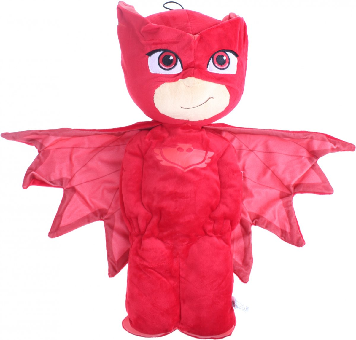 Disney pyjama handtas PJ Masks Owlette 1,8 liter rood