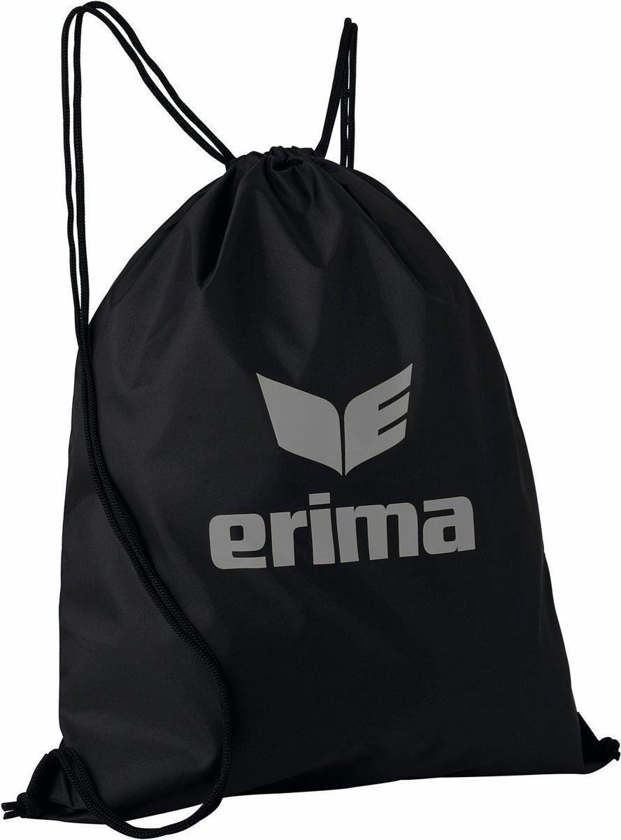 Erima gymtas met rijgkoord club 5 zwart/zilver