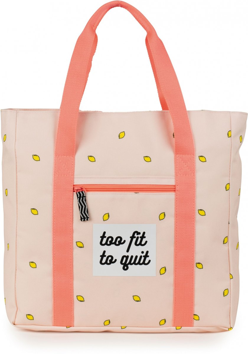 Stationery Team shopper Awesome Girls roze 21 liter