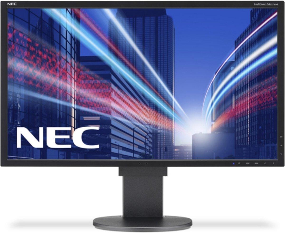 NEC MultiSync EA275WMi LED display 68,6 cm (27'') 2K Ultra HD LCD Flat Zwart
