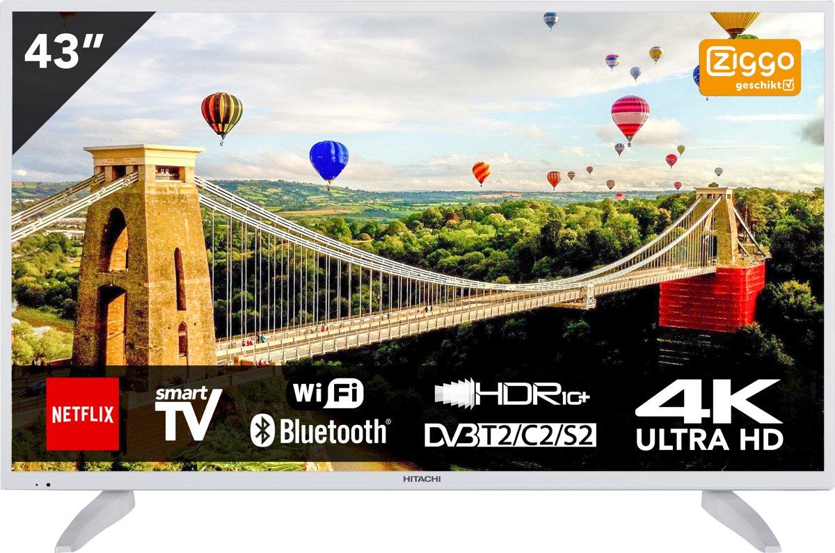 Hitachi 43HK6003W 43 inch (109cm) DLED TV SMART TV met ingebouwde Wi-Fi Ultra HD