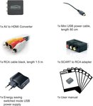 Marmitek Connect AH31 AV Converter [3x Cinch-koppeling => 1x HDMI-bus]