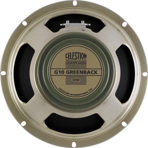 Celestion G10 Greenback gitaar luidspreker 10 inch 30W 8 ohm