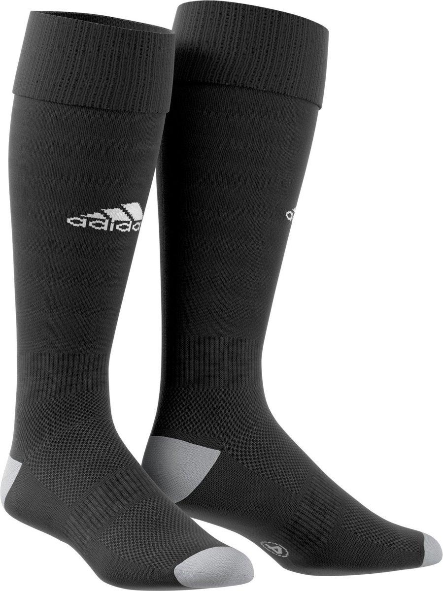 adidas Milano 16 Sportsokken - Maat 34/35 - Unisex - zwart/wit/grijs