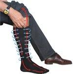 Travelsafe Pressure Sock L/43-46 - black