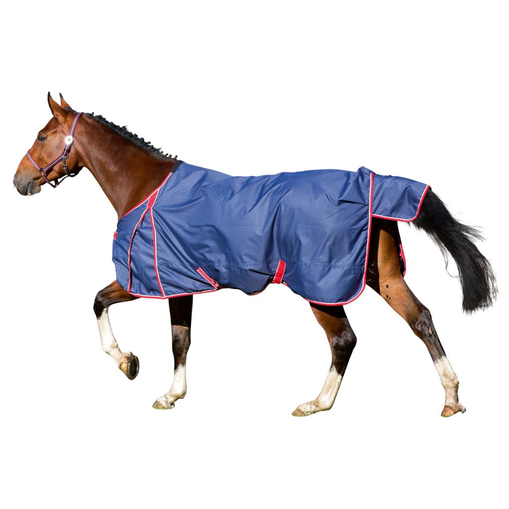 Kerbl Paardendeken RugBe Protect navy blauw 145 cm