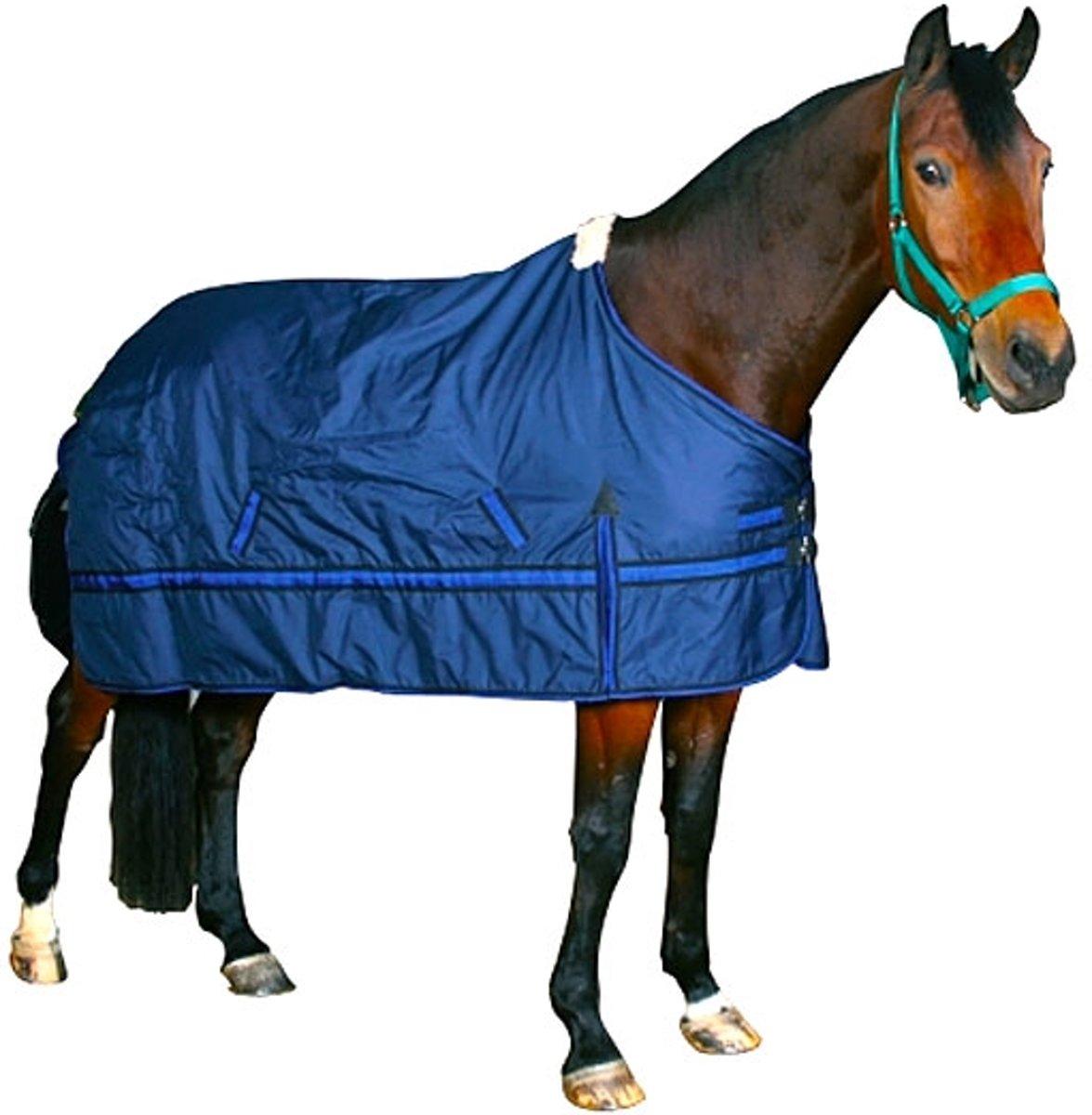 Kerbl Paardendeken Regendeken Paddock waterdicht - Blauw - 0gr/600Den/135cm
