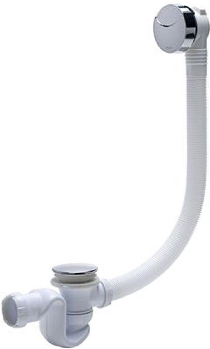 Wirquin badsifon 'Elton' chroom met kabel