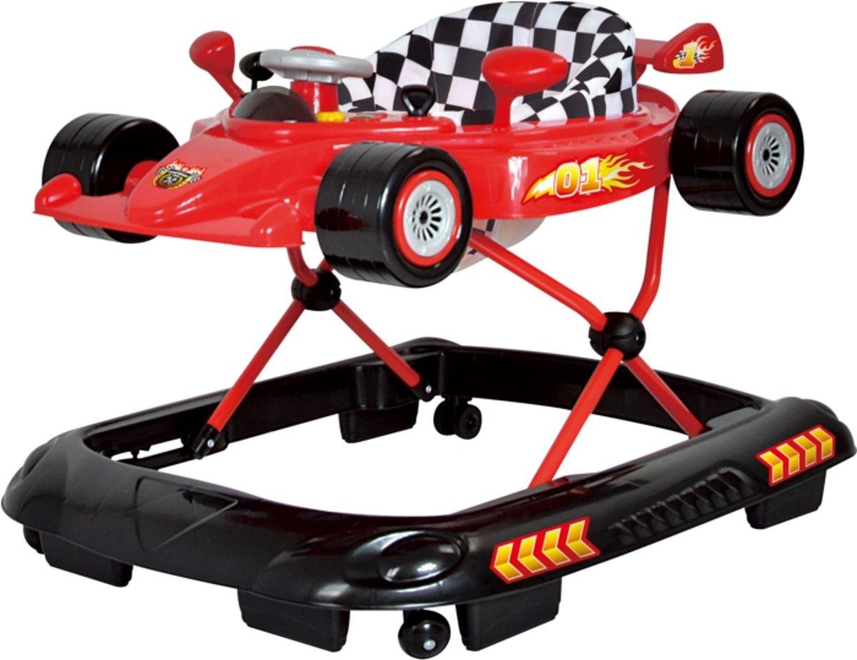 Basicline Formula 1 Loopstoel Red