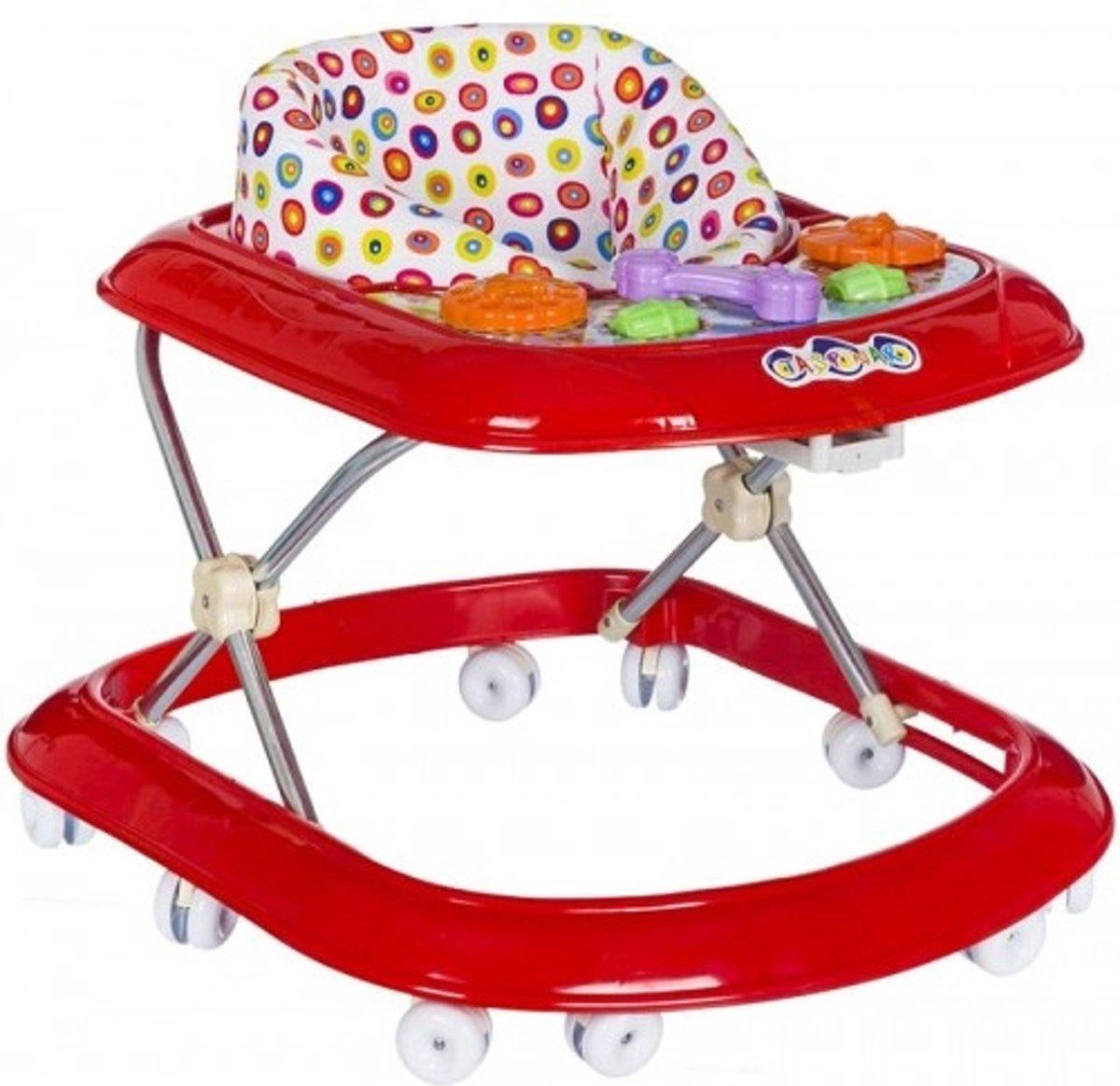 Happyway loopstoel rood