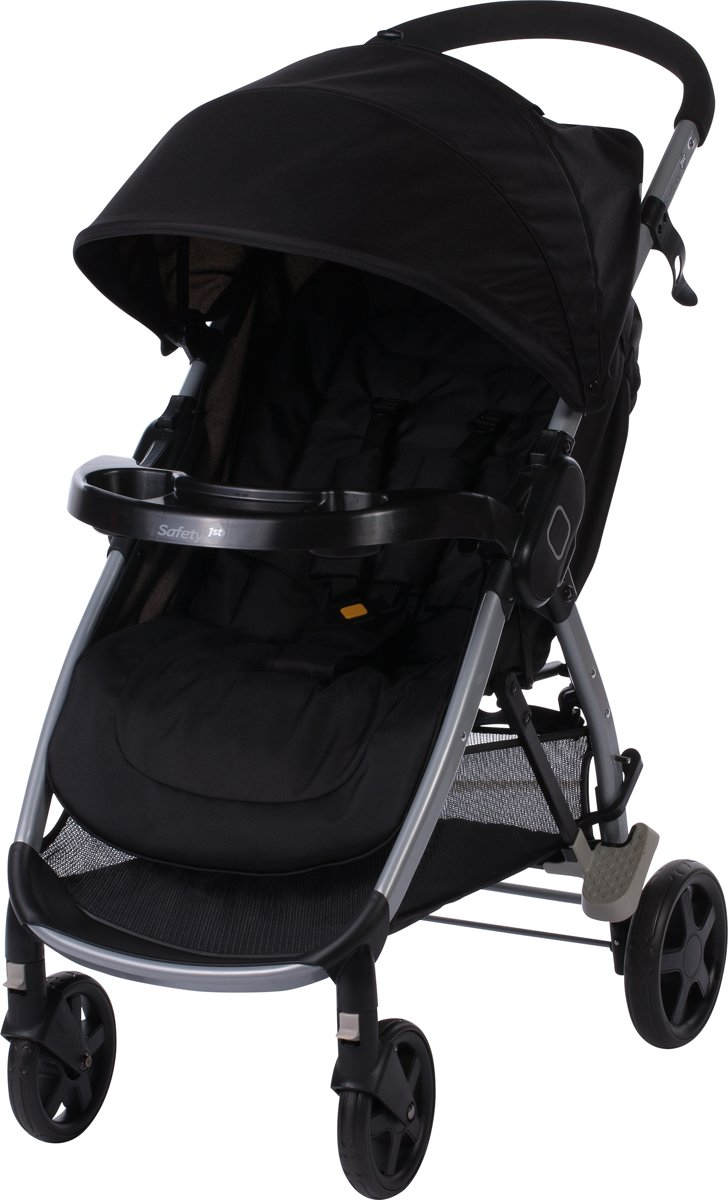 Safety 1st Step & Go Stand Alone Buggy - Full Black
