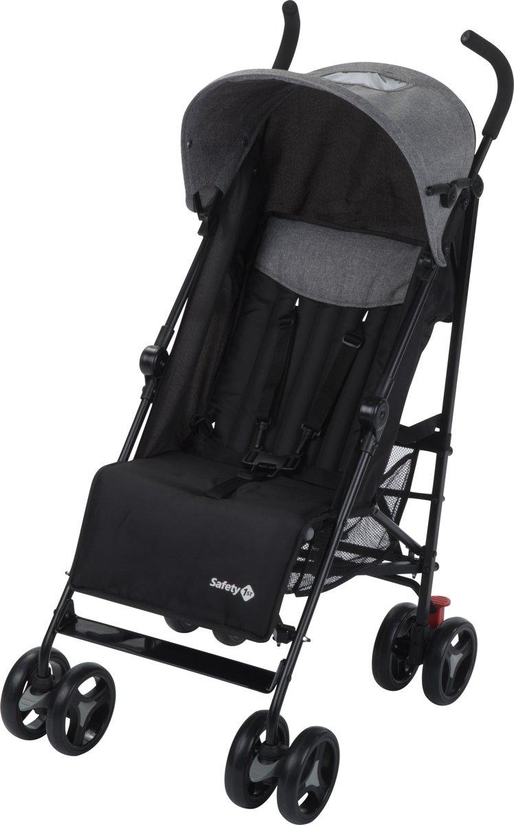 Safety 1st Kinderwagen verstelbaar Rainbow zwart 1131666000