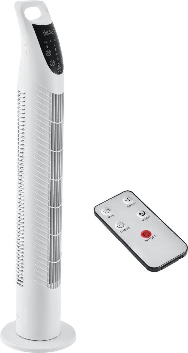 Staande ventilator - torenventilator 78x18cm - wit