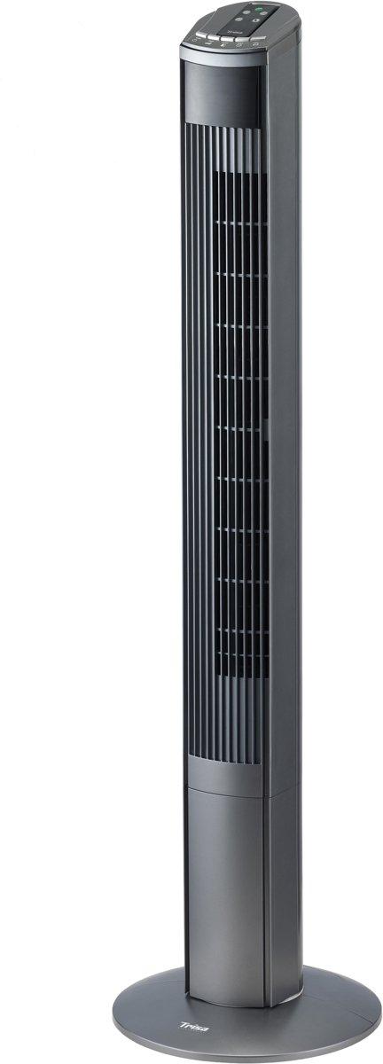 Trisa Electronics 9346.4310 Torenventilator Grijs, Zilver